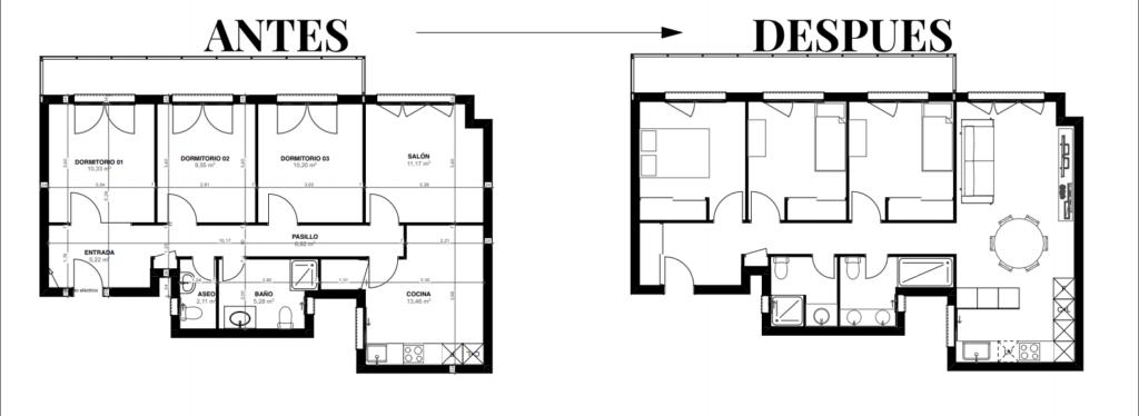 planos-de-arquitectura-antes-y-despues